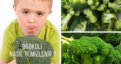 brokoli nasil temizlenir
